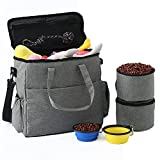 Dog Travel Bag Airline Approved Travel Set for Dogs of...