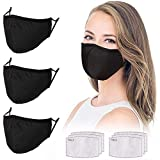Adjustable Face Protector Cloth Mouth Shield Washable...