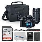 Canon EOS Rebel DSLR T6 Camera Body + Canon EF-S 18-55mm IS...