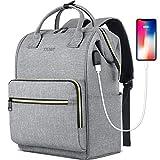 Laptop Backpack for Women Men, Travel Backpack for 15.6 Inch...