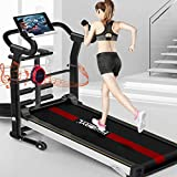 Manual Treadmill 6-in-1, with APP Monitoring, Wireless...