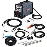 MTS-165, 165-Amp MIG/TIG-Torch/Stick Arc Combo Welder, Weld...
