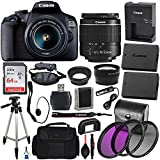 Canon EOS 2000D (Rebel T7) Digital SLR Camera with 18-55mm...