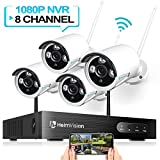 HeimVision HM241 1080P Wireless Security Camera System, 8CH...