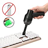 Keyboard Cleaner with Cleaning Gel, MECO Rechargeable Mini...