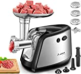 Electric Meat Grinder, Aobosi 3-IN-1 Meat Mincer & Sausage...