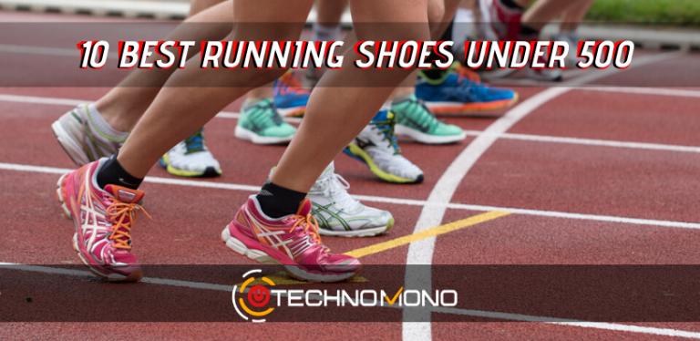 10 Best Running Shoes Under 500