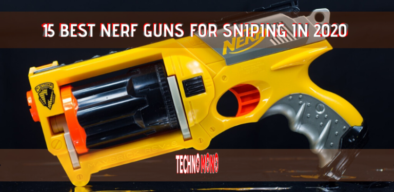 15 Best Nerf Guns for Sniping In 2020