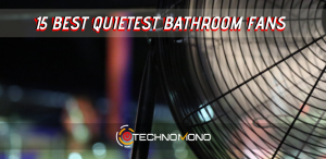 15 best quietest bathroom fans with light