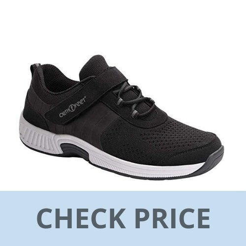 Orthofeet Joelle Comfortable Orthopedic Diabetic Flat Feet Womens Walking Shoes
