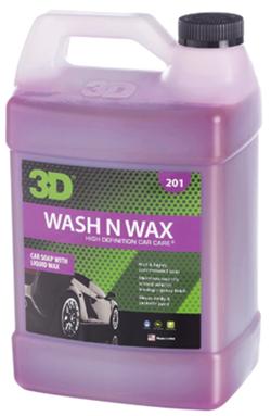 3D wash n wax car cleaner