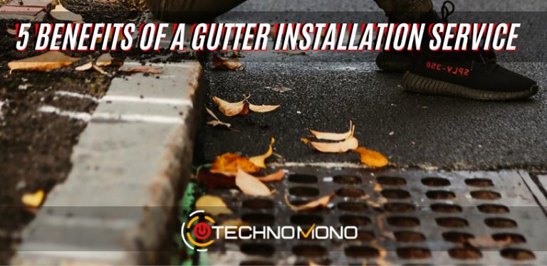 5 Benefits of a Gutter Installation Service
