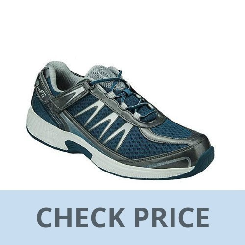 Orthofeet Sprint Men's Orthopedic Athletic Shoe