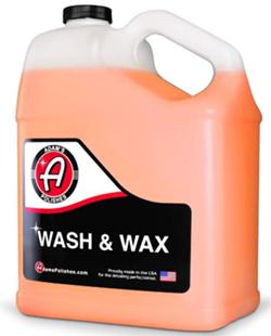 Adams wash wax gallon