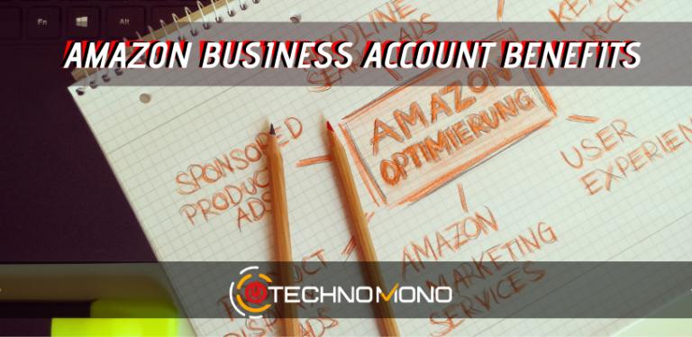 Amazon Business Account Benefits