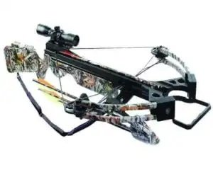 Arrow Precision Inferno Firestorm II Compound Crossbow with Free Rope Cocker