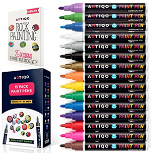 Artiqo pens for wood painting