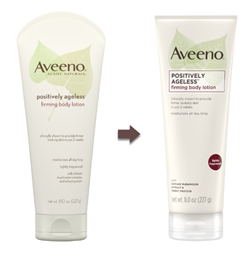 Aveeno Positively Ageless Anti Aging Forming Body Lotion