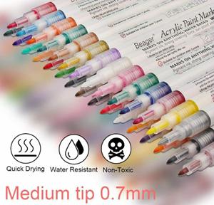 Beager acrylic paint pens