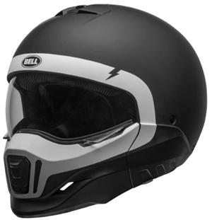 Bell broozer matte black helmet