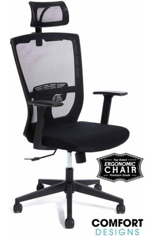Berlman mesh high back office chair