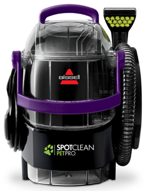 Bissell spotclean pet pro 2458 carpet cleaner