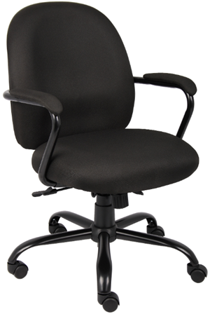 Boss office products deluxe fabric task chair