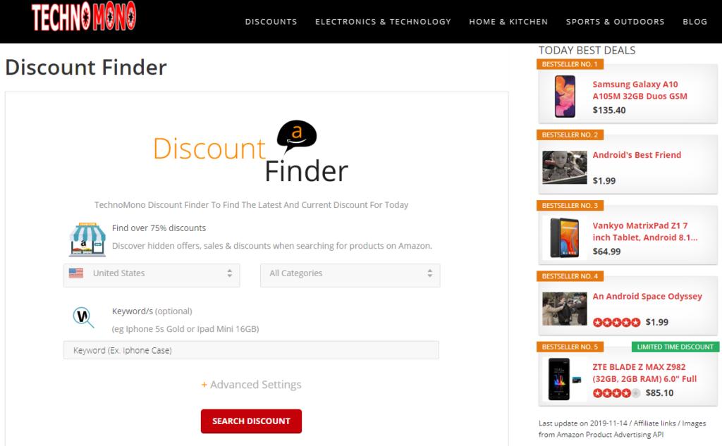 Discount Finder 1