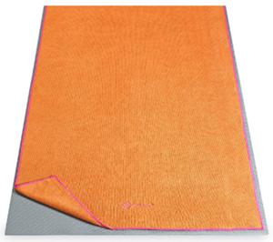 Gaiam yoga mat towel with microfibers