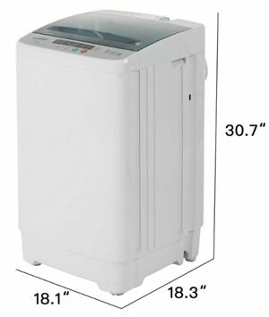 Giantex fullautomatic portable compact washing machine