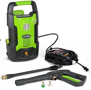 Greenworks 1500psi electric pressure washer