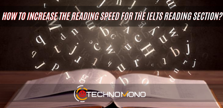 How to increase the reading speed for the ielts