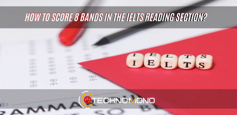 How to score 8 bands in the ielts reading section