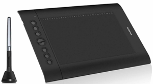 Huion h610 pro v2 graphics drawing tablet