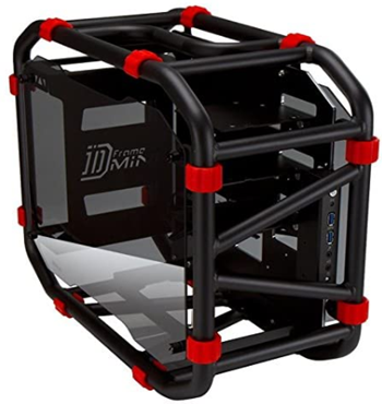 Inwin dframe mini black motorcycle itx computer case