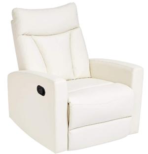 Jc home swivel glider recliner chair