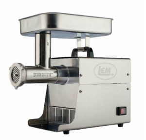 LEM Stainless Steel Big Bite Electric Meat Grinder