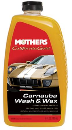 Mothers 05674 california gold carnuba wash wax