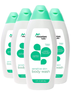 Mountain Falls Bodywash for Sensitive Skin