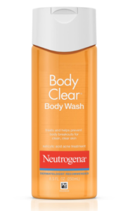 Neutrogena Body Clear Acne Treatment Body Wash