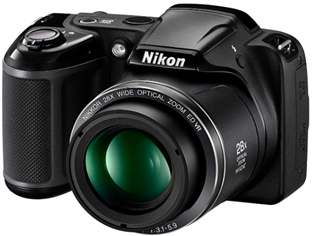 Nikon Coolpix L340 20 2 Megapixel Digital Camera