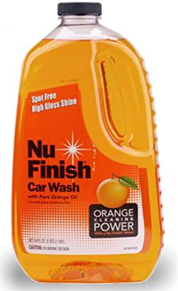 Nu finish car wash soap