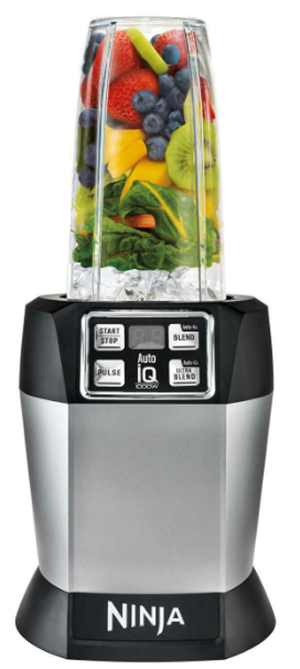 Nutri ninja blender with stainless steel