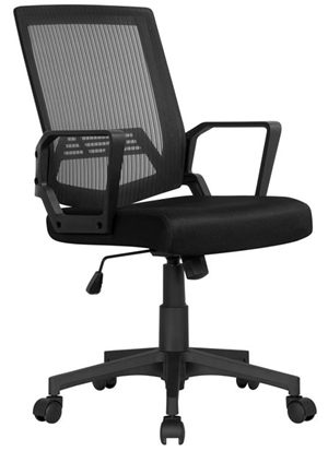 Oak leaf midback office chair