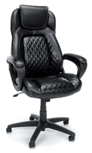 Ofm essentials racing style softhread office chair