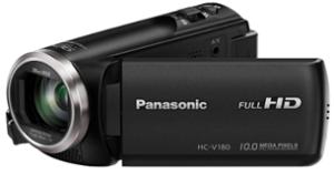 Panasonic Full HD Camcorder HC V180K