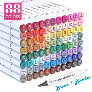 Shuttle art paint pens