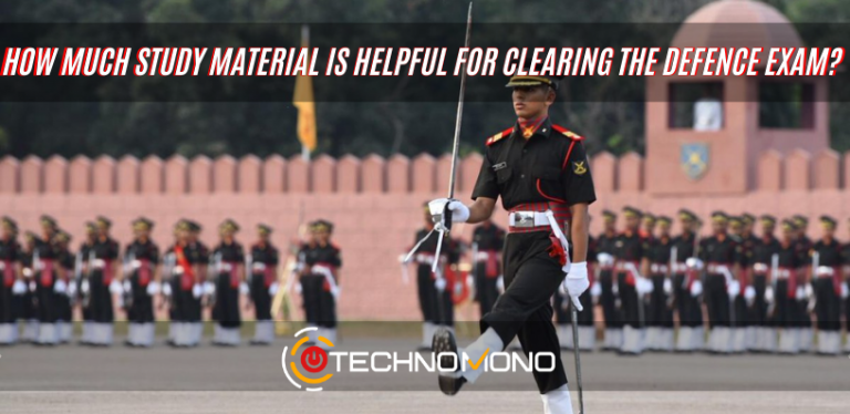 Study material for clearing the defence exam