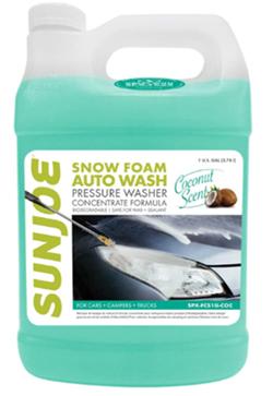 Sun joe spxfcs1gcoc car wash soap