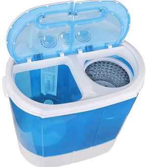 Super deal 2 in 1 mini compact washing machine 1